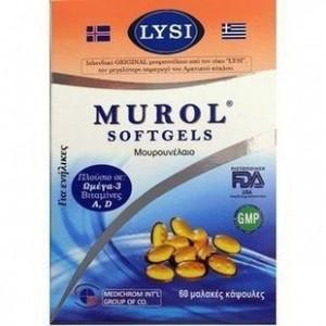 Medichrom Murol Μουρουνέλαιο 60μαλακές κάψουλες