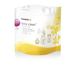 Medela Quick Clean™ Σακουλάκια αποστείρωσης μικροκυμάτων, 5 τεμ