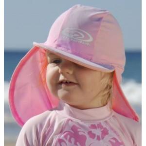 Sun Protection Καπέλο τύπου λεγεωνάριου για Κοριτσι Ροζ XS(0-2 ΕΤΩΝ)