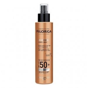 Filorga UV Bronze Corps Body Spray SPF50 Αντηλιακό Λάδι για το Σώμα με Ενισχυμένη Αντιγηραντική και Επανορθωτική δράση 150ml