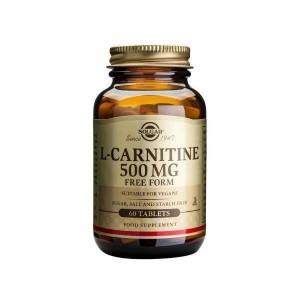 Solgar L-Carnitine 500mg  60 tabl
