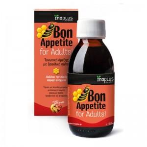 Bon Appetite for Adults, Τονωτικό Σιρόπι Όρεξης με Βασιλικό Πολτό, 150ml