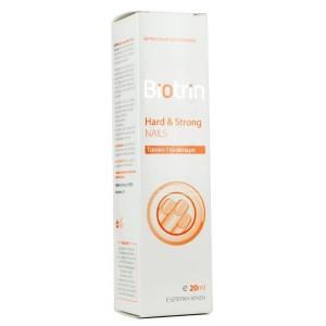 Biotrin Hard & Strong Nails Topical Emulsion Ενυδατικό, Σκληρυντικό & Προστατευτικό Γαλάκτωμα Καθημερινής Φροντίδας, για τα Εύθραυστα Νύχια, 20ml