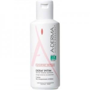 A-Derma Derm'Intim pH 5.5, 200ml: Gel για την καθημερινή εξωτερική υγιεινή της ευαίσθητης περιοχής. Καθαρίζει απαλά, καθώς προστατεύει τους βλενογόννους.