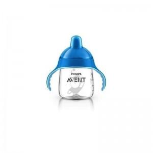 AVENT Κύπελλο με λαβές 340ml (μπλε) 18M+ SCF755/05