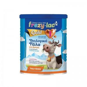 Frezylac Organic Milk Gold 1 Βιολογικό Γάλα για Βρέφη από την Γέννηση έως τον 6o μήνα 400gr