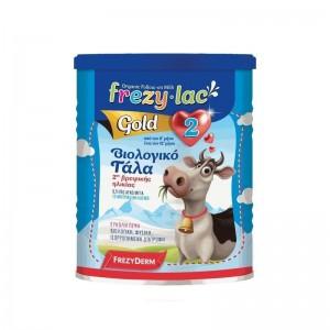 Frezylac Organic Milk Gold 2 Βιολογικό Γάλα για Βρέφη 2ης Βρεφικής Ηλικίας από τον 6o έως τον 12ο μήνα 400gr.