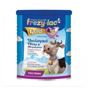Frezylac Organic Milk Gold 3 Βιολογικό Γάλα για Βρέφη 3ης Βρεφικής Ηλικίας μετά τον 12ο μήνα 400gr