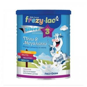 Frezylac Milk Drink Silver 3 Αγελαδινό Γάλα σε Σκόνη 3ης Βρεφικής Ηλικίας μετά τον 12ο μήνα 400gr.