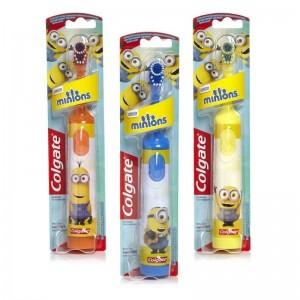 Colgate Minions* Ηλεκτρική Παιδική Πολύ Μαλακή Οδοντόβουρτσα 1 Τμχ.