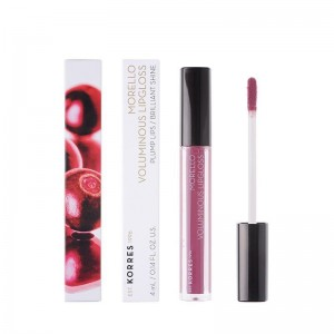 KORRES Morello Voluminous Lipgloss Nο 27 -Berry Purple 4ml / 0.14FL. Oz.
