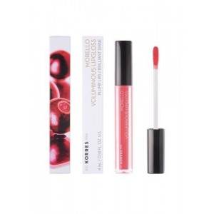 KORRES Morello Voluminous Lipgloss Nο 16 - Blushed Pink 4ml / 0.14FL. Oz.