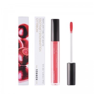 KORRES Morello Voluminous Lipgloss Nο 42 - Peachy Coral 4ml / 0.14FL. Oz.