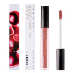 KORRES Morello Voluminous Lipgloss Nο 04 - Honey Nude 4ml / 0.14FL. Oz.