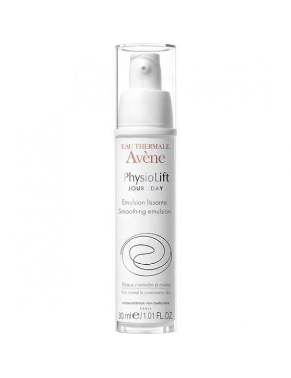 Avene Physiolift Emulsion Lissante Αντιρυτιδική Λειαντική Κρέμα Ημέρας για Αναδόμηση του Κανονικού/Μεικτού Δέρματος, 30ml