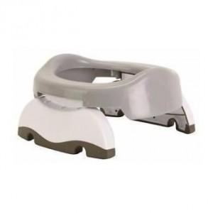 Babywise Potette Plus Travel* ταξιδιωτικό γιογιό και τουαλέτα κάθισμα εκπαιδευτής 1τμχ Γκρι-Λευκό