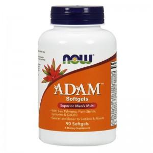 NOW Foods Adam Male Multi Προηγμένη Αντρική Πολυβιταμίνη 60 Tabs