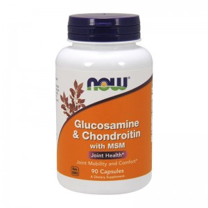 NOW Foods Glucosamine & Chondroitin with MSM, 90 κάψουλες