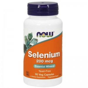 NOW Foods Selenium Yeast Free Vegetarian 100 mcg, 100 tabs