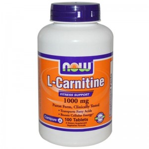Now Foods L-Carnitine 500mg 30 Κάψουλες