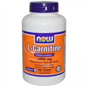 Now Foods L-Carnitine 500mg 30 Κάψουλες