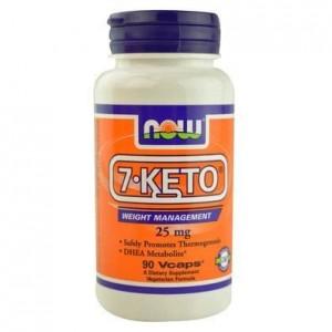 Now Foods 7-KETO® 25 mg( 90 Φυτικές Κάψουλες )
