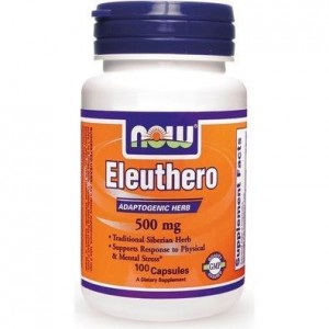 Now Foods Eleuthero 500 mg 100 Κάψουλες