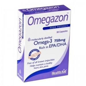 Health Aid Omegazon Omega 3 750mg EPA/DHA 60caps