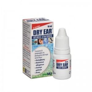 Intermed Dry Ear Drops, Ωτικές Σταγόνες Αφαίρεσης Νερού, 10 ml