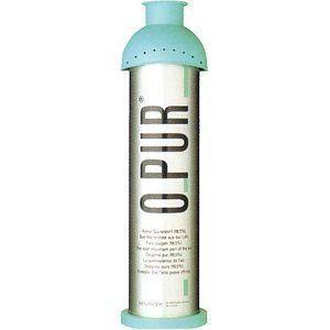O-PUR Φιάλη Οξυγόνου Ελβετίας 8lt
