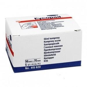 Hartmann Eycopad Οφθαλμικά Επιθέματα μη αποστειρωμένα 56x70mm [4156200], 5τμχ
