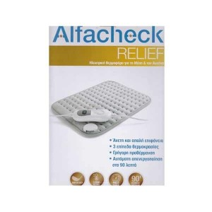 ALFACHECK Ηλεκτρονική Θερμοφόρα για τη Μέση και τον Αυχένα, 1τμχ.