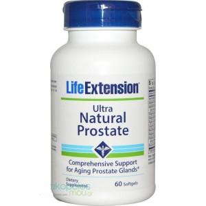 Life Extension Ultra Natural Prostate Formula, 60 softgels