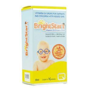 QUEST BRIGHT START VITAMIN D3 DROPS+ DHA 20ml