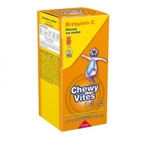 Chewy Vites Jelly Bears - Vitamin C, Συμπλήρωμα Διατροφής με Βιταμίνη C για παιδιά 60 μασώμενα ζελεδάκια