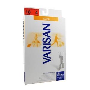 Varisan Passo Unisex Κάλτσα Κάτω Γόνατος 18mmHg Διαβαθμισμένης Συμπίεσης, Καφε (1 ζευγος)