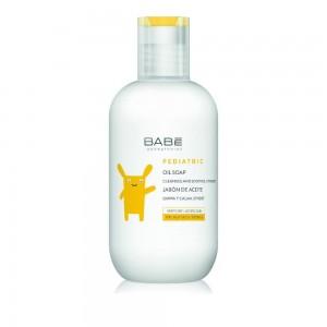 Babe Pediatric Oil Soap, Έλαιο Καθαρισμού για Ξηρό ή Ατοπικό Δέρμα Παιδιών και Μωρών, 200ml