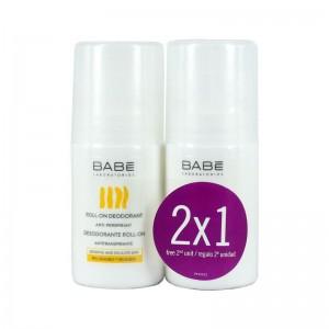 Babe Promo Deodorant, Αποσμητικό για Άνδρες και Γυναίκες, 2x50ml