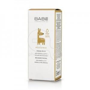 Babe Pediatric Balsamo Facial Atopic Skin, Ενυδατική και Καταπραϋντική Κρέμα Προσώπου, 50ml