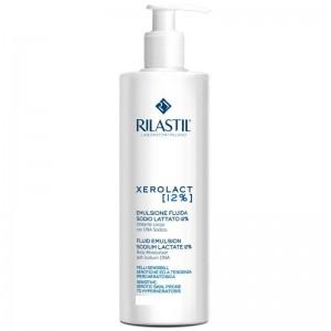 Rilastil Xerolact Fluid Emulsion 12% (400ml) - Ενυδατικό & καταπραϋντικό γαλακτωμα σώματος