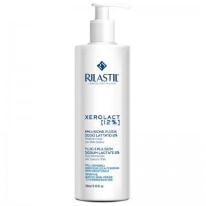 Rilastil Xerolact Fluid Emulsion Sodium Lactate 12% 250ml