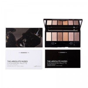 Korres Volcanic Minerals Eyeshadow Palette The Absolute Nudes Παλέτα Σκιών για τα Μάτια 6g