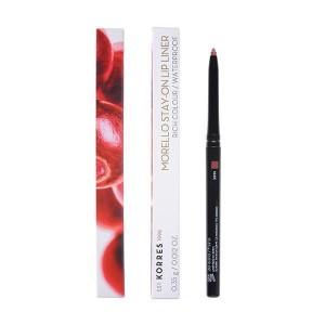 Korres Morello Stay-On Lip Liner 01 Nude Αδιάβροχο μηχανικό μολύβι χειλιών, 0.35g