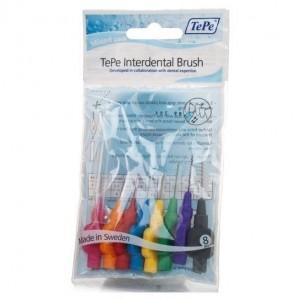 TePe International Brush Original All Sizes Μεσοδόντια Βουρτσάκια 8τμχ