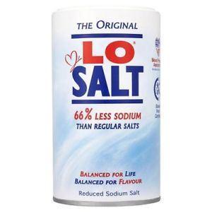 Lo Salt Αλάτι με 66% Λιγότερο Νάτριο 350g