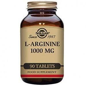 Solgar L-Arginine Συμπλήρωμα διατροφής 1000mg 90vegcaps