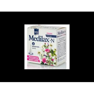 INTERMED Medilax-N Βρεφικά Μικροκλύσματα με Χαμομήλι & Μολόχα 0-2 ετών (6 μικροκλύσματα των 3g)