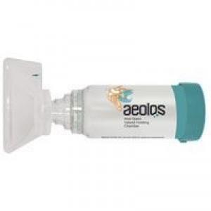 Aeolos Αεροθάλαμος εισπνοών Aeolos Ενηλίκων 6+ ετών Μάσκα & Επιστόμιο