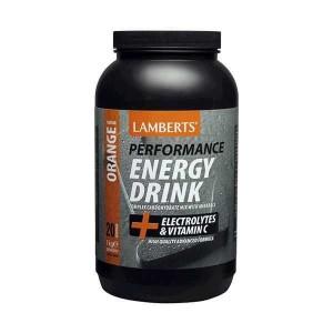 LAMBERTS Energy Drink Γεύση Πορτοκάλι 1kg 7010