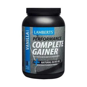 Lamberts Performance Complete Gainer Whey Protein 1816g - γεύση ΒΑΝΙΛΙΑ